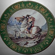 "SOLD 1984 Claude Boulme ""Napoleon Crosses the Alps"" Limited Edition Plate"