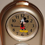 "SOLD 1987 Seiko ""Mickey Mouse"" Musical Alarm Clock"