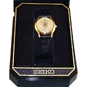 Rare! 1994 Seiko &quot;Donald Duck&quot; 60th Anniversary Limited Edition Ladies Watch