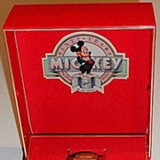 "SOLD 1988 Seiko ""Mickey Mouse"" 60th Anniversary Man's Watch"