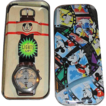 "1995 Fossil ""Mickey Mouse"" Around the World Watch"