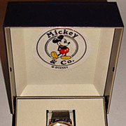 "1992 Seiko ""Mickey Mouse"" Pearl Dial Man's Watch"