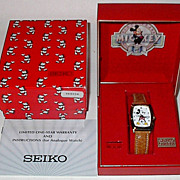 "1988 Seiko ""Mickey Mouse"" 60th Anniversary Man's Watch"