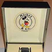 "1987 Seiko ""Mickey Mouse"" Man's Dress Watch"
