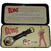 "1994 Fossil ""Elvis Presley"" Limited Edition Watch and Pin Set"