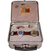 "1993 Fossil ""Fred and Barney"" Flintstones Limited Edition Watch and Pin Set"