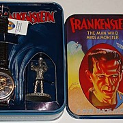 "Rare! 1995 Fossil ""Frankenstein"" Limited Edition Watch Set"