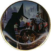 "SALE 1989  ""The Witch Casts A Spell"" Limited Edition Plate"