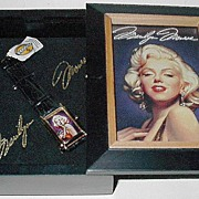 "1995 Fossil ""Marilyn Monroe"" Limited Edition Watch"