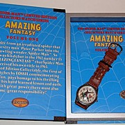"1994 Fossil ""Spider-Man""  No.1 Limited Edition Watch and Pin Set"