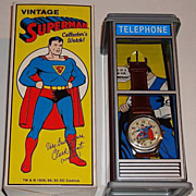 "1993 Fossil ""Superman"" Special Edition Collectors Watch"