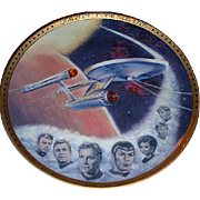 "SALE 1983 Hamilton Collection ""USS Enterprise NCC 1701"" Limited Edition Plate"
