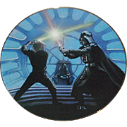 "SALE Fathers Day Sale! 1987 Star Wars ""Luke Skywalker & Darth Vader"" Limited Edition"