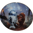 1987 Star Wars &quot;R2D2 and Wicket&quot; Limited Edition Plate