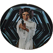 "SALE 1987 Star Wars ""Princess Leia"" Limited Edition Plate"