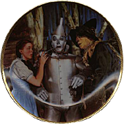 "1989 Hamilton Collection ""The Tin Man Speaks"" Limited Edition Plate"
