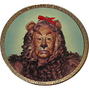 "SALE Spring Sale! 1989 Hamilton Collection ""Cowardly Lion"" Limited Edition Plate"