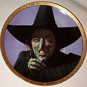 "SALE Spring Sale! Rare! 1989 Hamilton Collection ""Wicked Witch"" Limited Edition Plat"