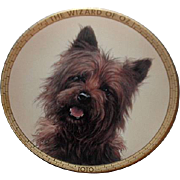 "SALE Sale! Rare! 1989 Hamilton Collection ""Toto"" Limited Edition Plate"