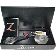 "SALE Christmas Sale! 1990 Fossil ""Zorro"" Limited Edition Mans Watch"