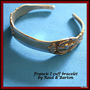 Sterling bracelet in Francis I by Reed & Barton