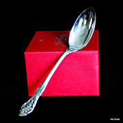 King Edward oval soup spoon in solid sterling by Gorham