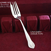 Lancaster sterling by Gorham salad forks