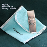Tiffany & Co. money clip or tie clasp in sterling silver