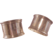 Pr. Vintage Sterling Napkin Rings/Henry & Sarah C. Mason