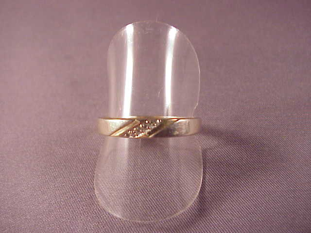 Vintage 14k and diamond band size 8 3 4 from albie on ruby for Naugatuck glass company