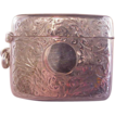 Wonderful Vintage English Sterling Vesta/Match safe/Chased