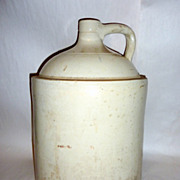 Antique 18� tall 5 Gallon Stoneware Jug Red Wing Minnesota -B-