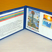 1982 World's Fair Knoxville TN.1st day Cover & Issue 4 Stamps in Double Sleeve