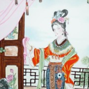 Hsi-feng, Beauties of the Red Mansion Limited Edition Collector Plate  #3