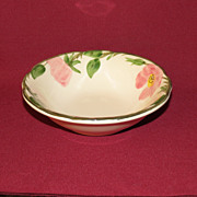 Franciscan Desert Rose Porringer Bowl c. 1970's -1984