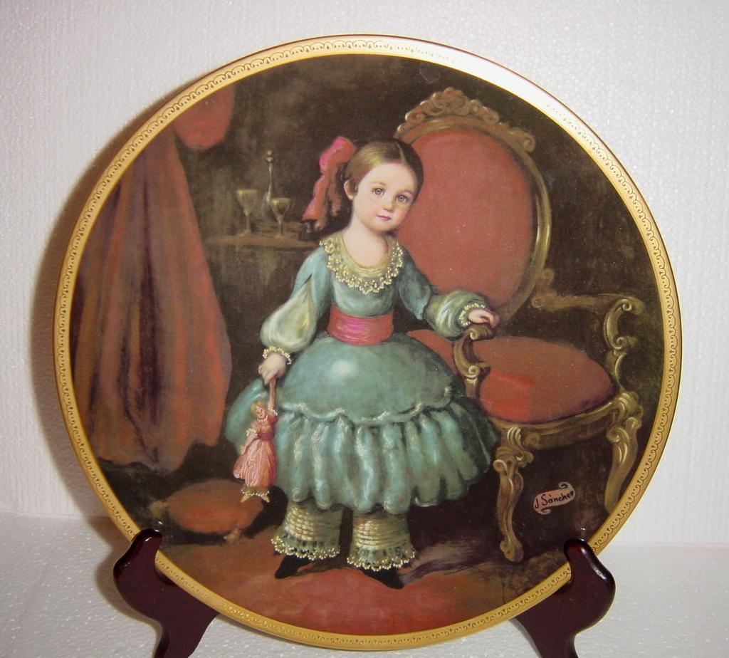 "Pickard's Children of Mexico ""Regina"" Limited Edition Collector Plate"
