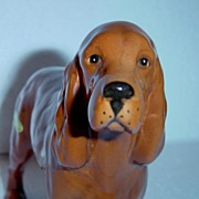 "Beswick ""Horseshoe Primula"" Golden Brown Cocker Spaniel #967"