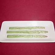 SALE Fitz and Floyd Ceramic Asparagus Tray