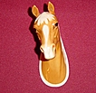 Beswick Palomino Horse Head Wall Plaque
