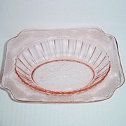 SALE Jeannette Glass Company Adam Oval Vegetable Bowl