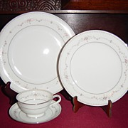 SALE Noritake Fairmont 4 Pc Place Setting