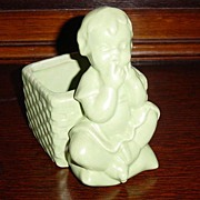 Haeger Little Girl Vase or Planter