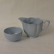 SALE Johnson Brothers Greydawn Creamer and Open Mini Sugar