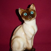 Josef Originals Gorgeous Large Siamese Cat