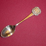 Silverplate Souvenir Spoon from South Australia