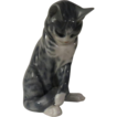 Royal Copenhagen Grey Tabby Cat #340
