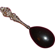 Wooden Darning Egg with Sterling Silver Handle