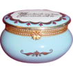 "Estee Lauder ""Where Hearts Are True..."" Enamel Over Porcelain Keepsake trinket Box"