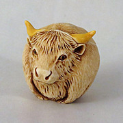 Harmony Kingdom Roly Poly Hardy the Bull Figurine Box