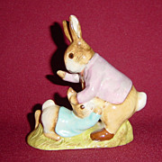 Beswick Beatrix Potter Mr. Benjamin Bunny and Peter Rabbit